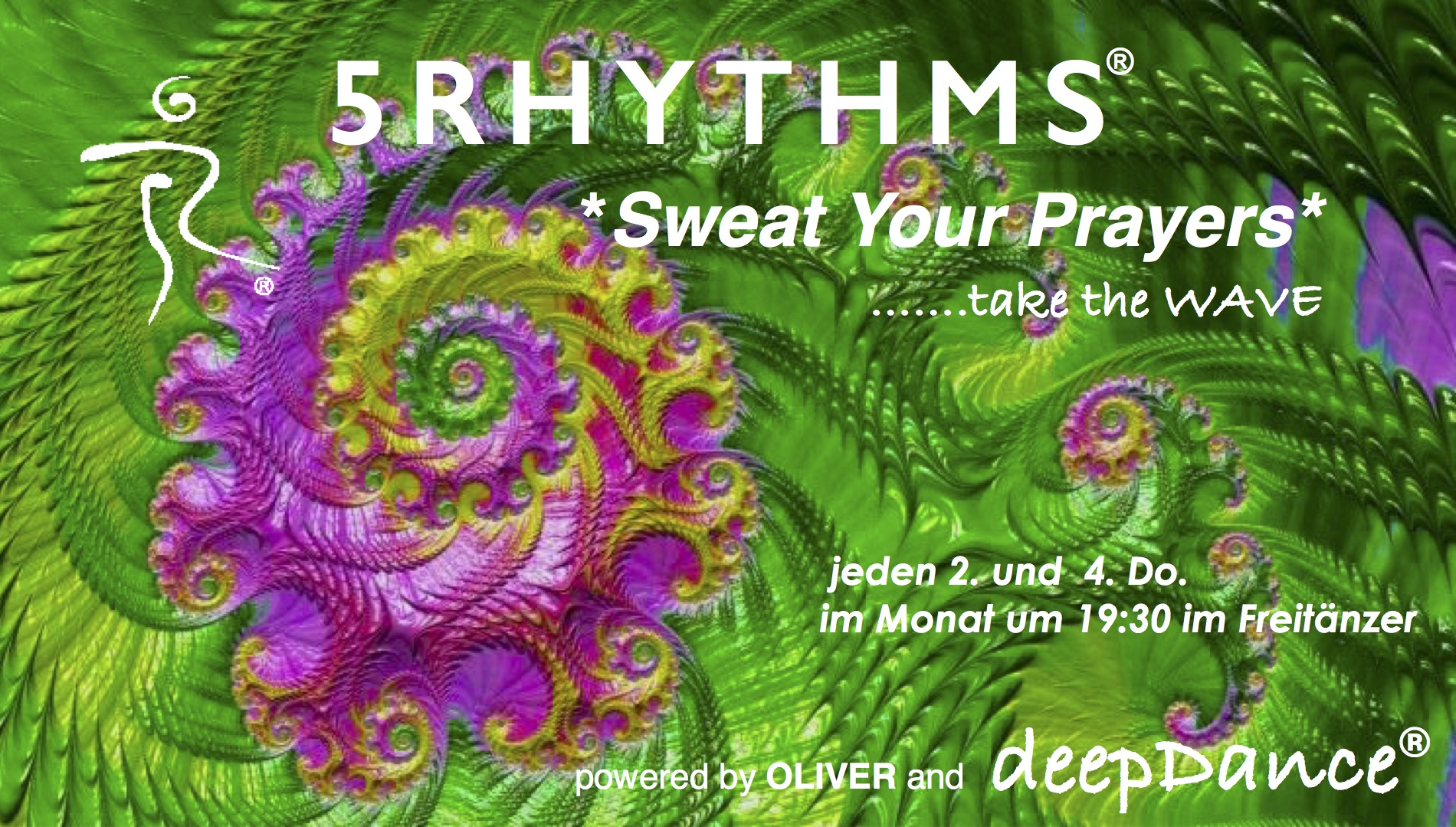 """Read more about the article deepDance – 5Rhythms – """"Sweat Your Prayers"""" mit Oliver"""